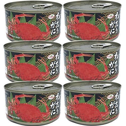 わたりがにフレーク缶 ワタリガニ缶詰 かに缶 蟹缶 カニ缶 カニフレーク 業務用 170gx6缶