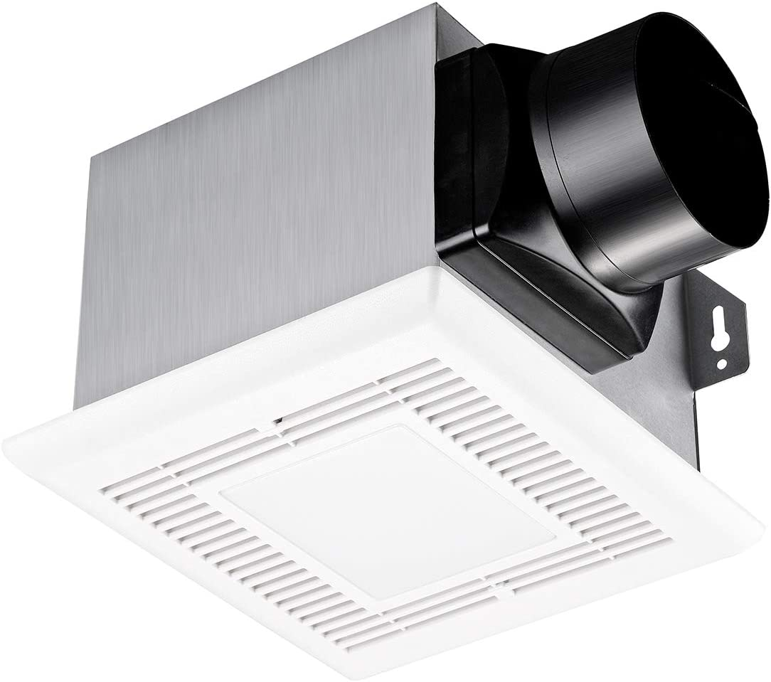 Tech Drive Bathroom Popular brand in the world Fan with Light Bargain 1.0Sone CFM 50 Acces Attic No