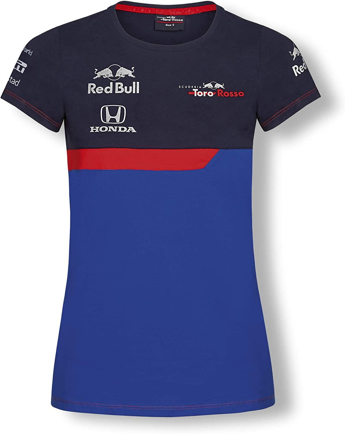 Scuderia Toro Rosso F1 Superior T-Shirt Challenge the lowest price of Japan Team Women's 2019