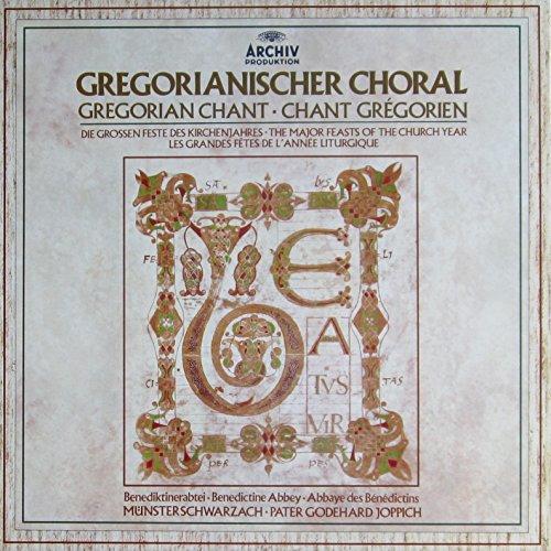 Gregorianischer Choral (Die grossen Feste des Kirchenjahres) / Gregorian Chant / Chant Gregorien [Vinyl Schallplatte] [5 LP Box-Set]