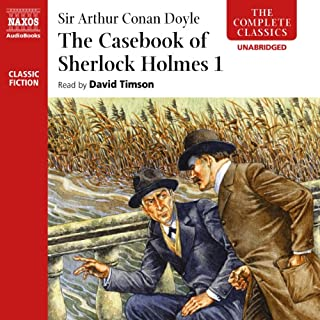 The Casebook of Sherlock Holmes, Volume I cover art