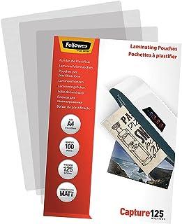 Fellowes Fundas de Plastificar Mate A4 125 Micras - (pack 100)
