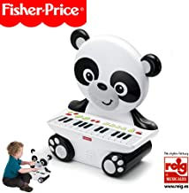 Fisher-Price- Piano Panda, Juguete Musical +2 años (Reig KFP2522), Color Blanco (Kids Station Toys