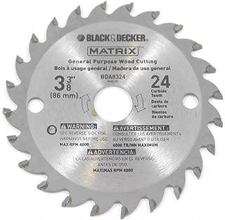 Black & Decker BDCMTTS Matrix Saw (2 Pack) Replacement 3-3/8