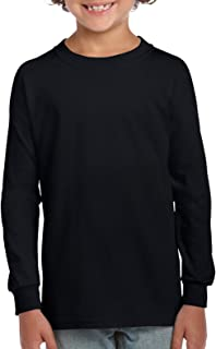Gildan Kids' Ultra Cotton Youth Long Sleeve T-Shirt, 2-Pack