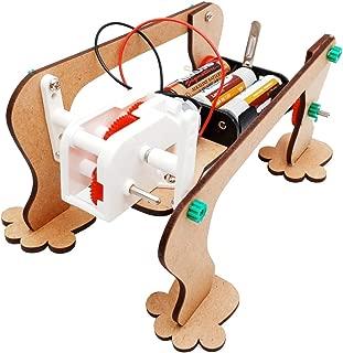 STEAM Education Kit - Monster King DIY Wooden Bionic Robot for Kids Age 8-12