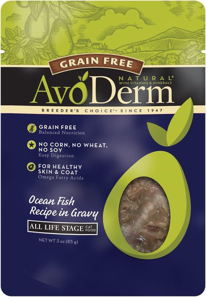 Avoderm Breeder'S Choice Ocean Fish Pet Food, 3 Oz