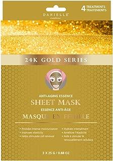 Danielle 24K Gold Anti-Aging Facial Sheet Masks