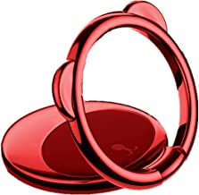 Telefoon Ring Beugel 360 ° Roteren Zinklegering Ultra-Dunne Beer Ring Beugel Vinger Telefoon Ring Houder Het kan worden ge...