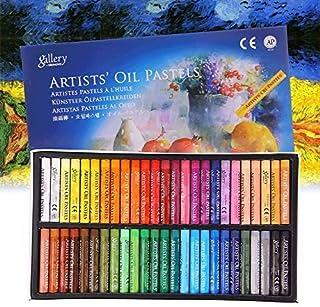 12/25/50 pcs Set de Pastel à l'huile Enfant Artiste Bâton de Peinture Dessin à l'Huile Non Toxiques Outil de Dessin Crayon...