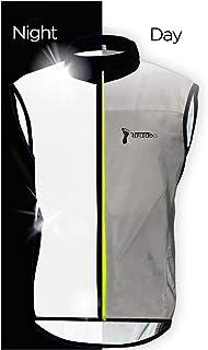 Bpbtti Men's Hi-viz Safety Running Cycling Vest