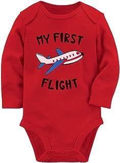 my first flight onesie
