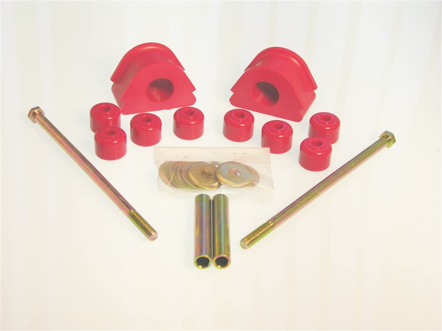 2021 autumn and winter new Prothane 6-1154 Red 27 mm Popular product Kit Front Sway Bushing Bar
