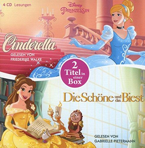 Disney Prinzessin: Die Schöne und das Biest - Cinderella: 2 Titel in einer Box (Disney Prinzessinnen, Band 2)