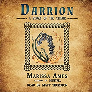 Darrion audiobook cover art