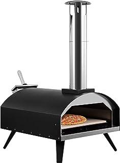 Extérieur Four à Pizza, Four à Pizza Portable avec Pierre à Pizza et la Pelle à Pizza, Fours en Plein air en acier Inoxyda...