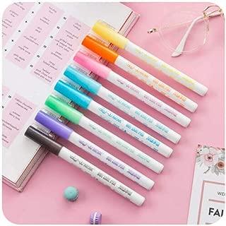 Dream Color Double Line Pen 8Color