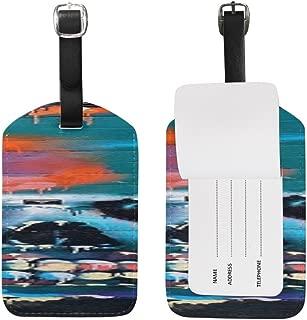 Graffiti Art Airbrush Mural Artwork Spray Color PatternSuitcase Luggage ID Tags
