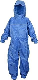 DRY KIDS - Waterproof Rainsuit 9-10 Yrs Royal Blue