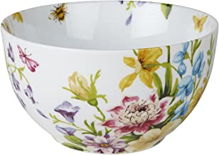 """Katie Alice """"english Garden"""" Stoneware Floral Cereal Bowl By Creative Tops, 15"""