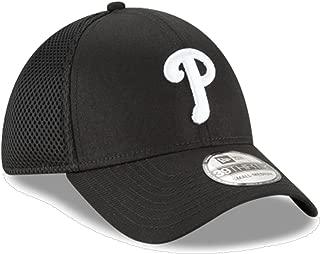 New Era Authentic Philadelphia Phillies Black Neo 39THIRTY Flex Hat