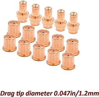 Plasma Drag Tip Electrode Kit for Eastwood Versa-Cut 40amp Plasma Cutter CB50 Torch Consumables 15pcs