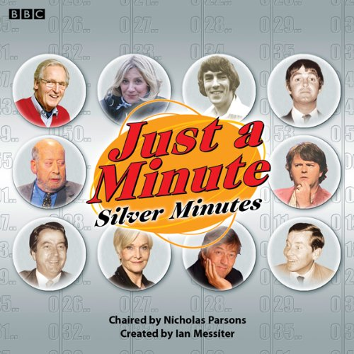 Just a Minute Silver Minutes audiobook cover art