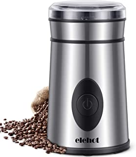 ELEHOT Molinillo de Café Eléctrico Acero Inoxidable para