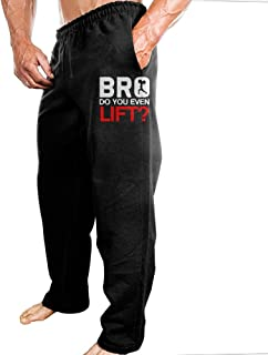 Bro Lift Weightlifting Men's Casual Preshrunk Cotton Sweatpants