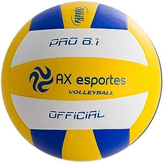03de26630 Bola de Vôlei Pro 6.1 AX Esportes em Microfibra Matrizada