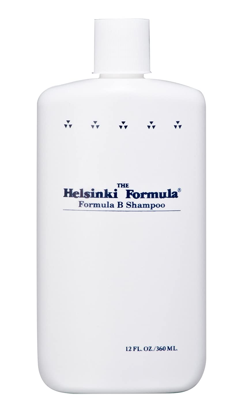 間電化する誇りヘルシンキ?フォーミュラ フォーミュラBシャンプー 360ml(皮脂汚れ乳化剤配合シャンプー)