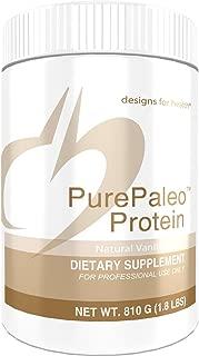 Designs for Health PurePaleo Protein Powder - Vanilla Pure Beef Collagen Peptides, 21g HydroBEEF Protein with Collagen + BCAAs (30 Servings / 810g)