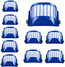 IHGTZS Sweeper Accessories, Carnival Day Father'S Day Cool And Clean Living Environment 100% Match 10Pc Pack Filter For Irobot Roomba 500 551 552 564 580 5 630 650 Series Vacuum Cleaner