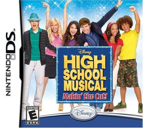 High School Musical Makin the cut Nintendo DS Original Lacrado