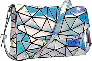 Sponsored Ad - Hotone Luminous Purses for Women Holographic Backpacks and Crossbody Bag Fanny Pack Tote bag Wallet Collection