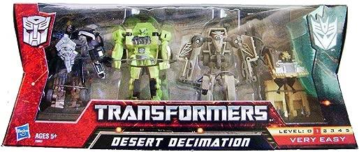 Hasbro Exclusive Transformers Desert Decimation Gift Set