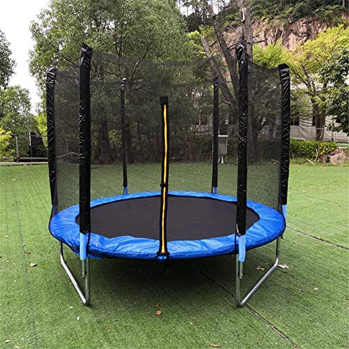 APJJ Trampoline Net Replacement, 10FT Universal Trampoline Safety Net Enclosure with Adjustable Straps, Breathable,Tear and Weather-Resistant Trampoline Protection Net (Trampoline Nets Only)