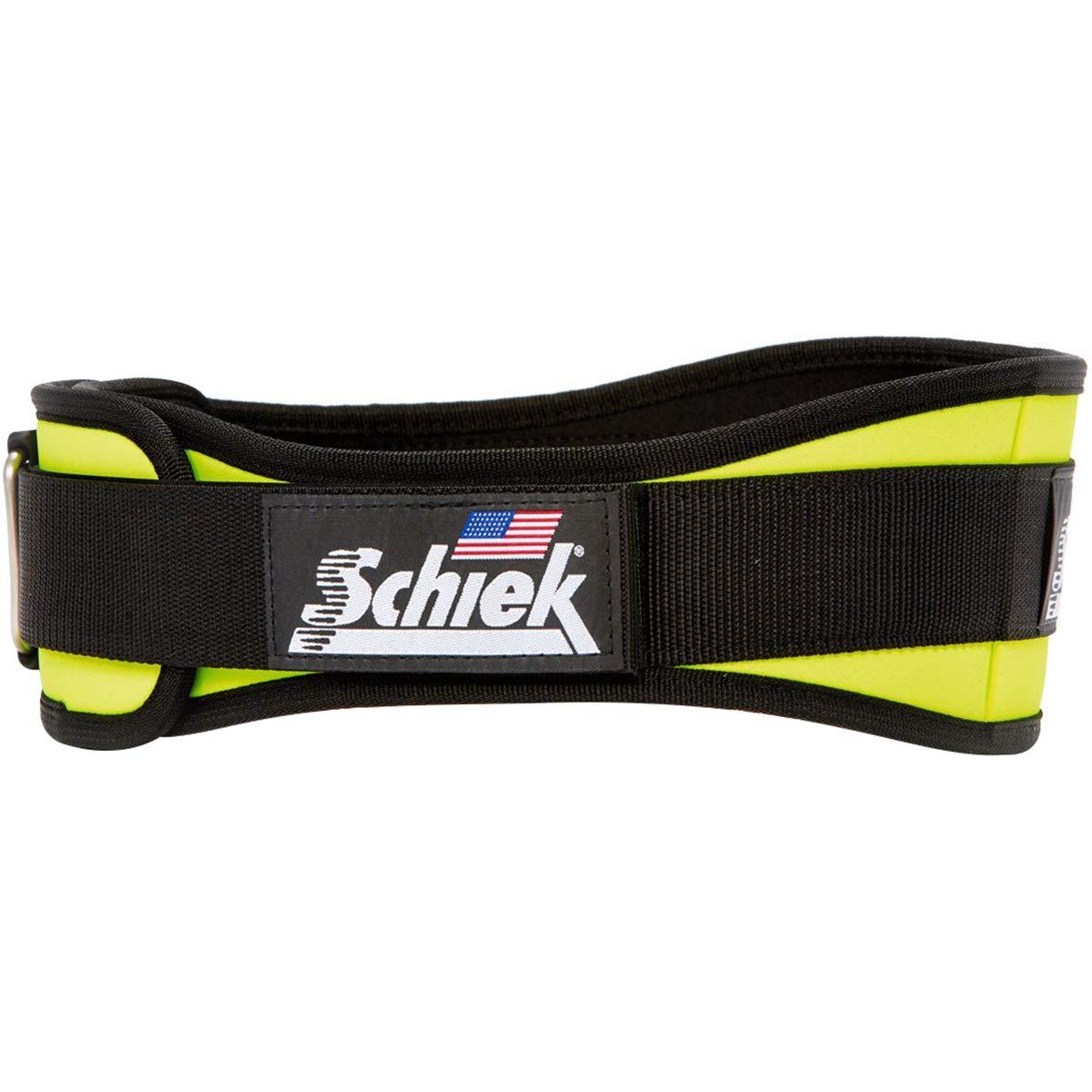 Schiek 2004 Contour Weight Lifting Belt Green
