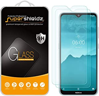 (2 Pack) Supershieldz for Nokia 6.2 Tempered Glass Screen Protector, Anti Scratch, Bubble Free