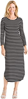 Women's Shirttail-Hem Dress