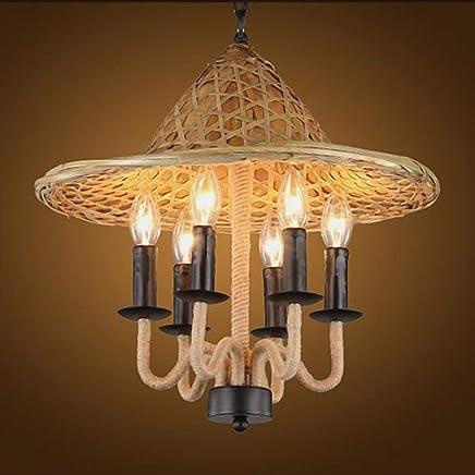 Amazon.es: lampara forma bombilla - Lámparas de araña ...