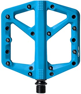 Crankbrothers Stamp Flat BMX/MTB Bike Pedal - Platform Bicycle Pedal, Minimal Profile, Adjustable Grip