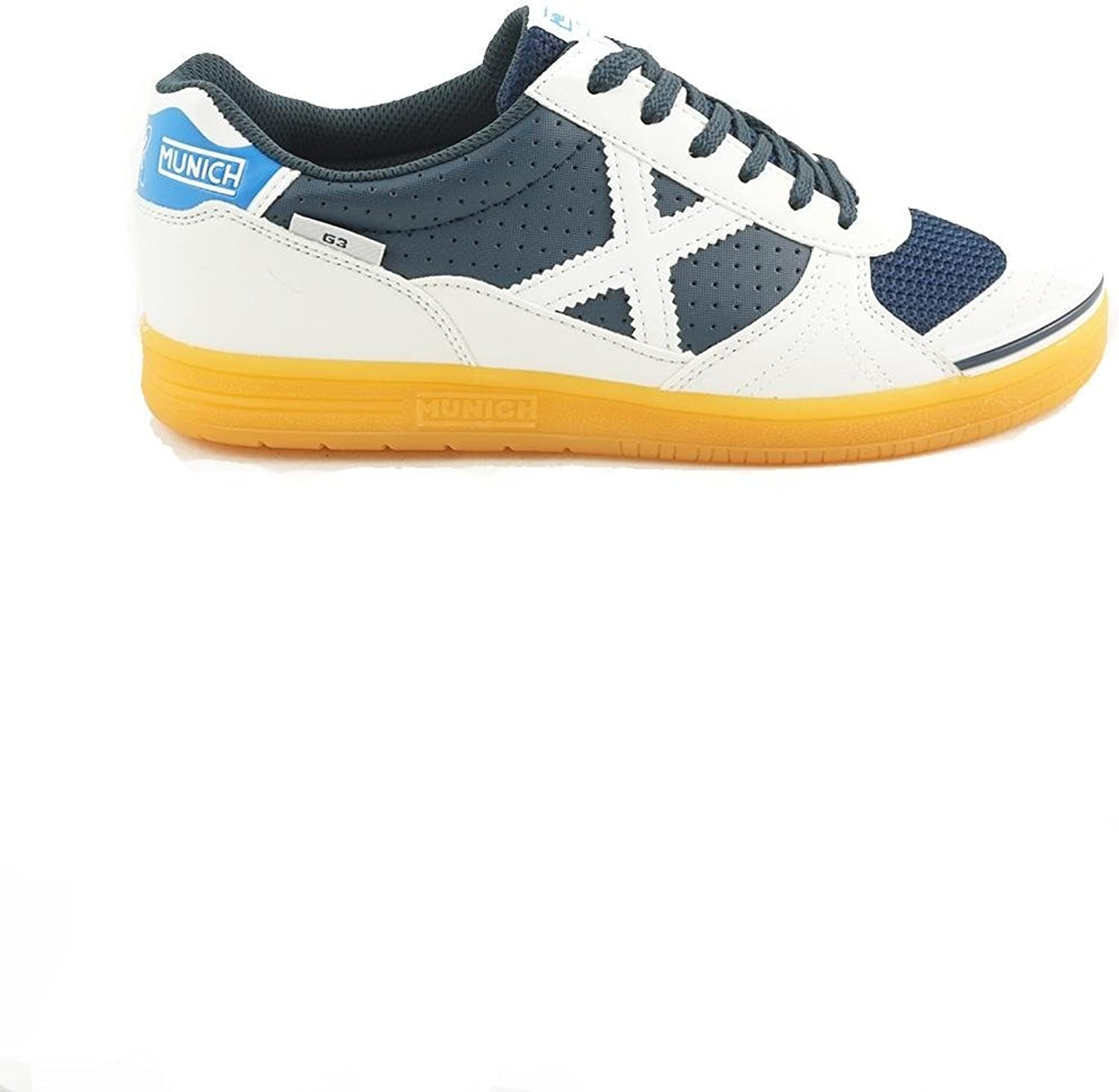 Munich Men's Futsal shoes white