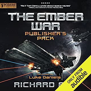 The Ember War     Publisher's Pack, Books 1-2              By:                                                                                                                                 Richard Fox                               Narrated by:                                                                                                                                 Luke Daniels                      Length: 15 hrs and 37 mins     454 ratings     Overall 4.4