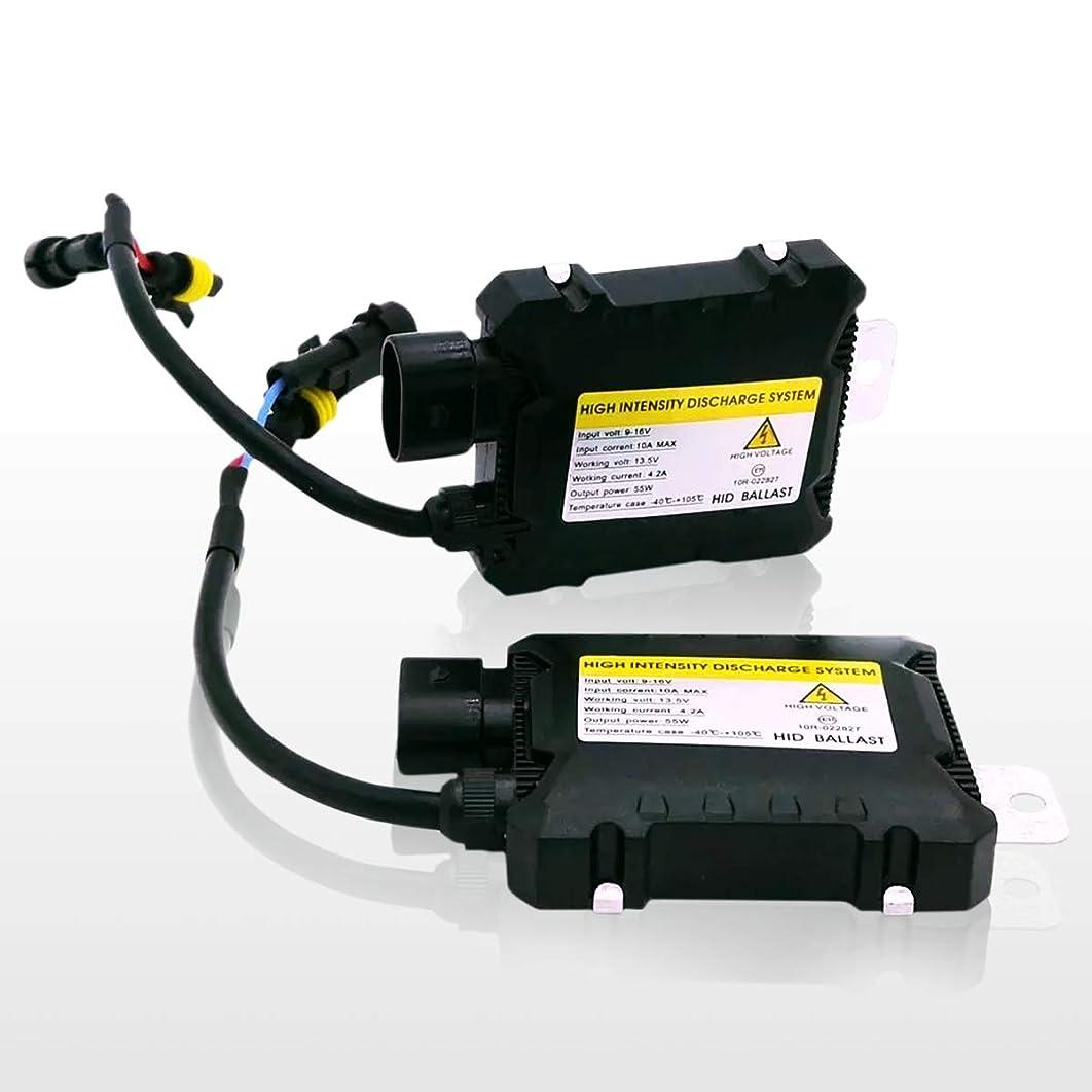 Zone Tech Xenon Ballast Bulb Conversion Replacement - 2-Pack 35W 6000K HID Ballast Bulb Conversion Replacement H1 H3 H7 H8