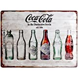 Nostalgic-Art Coca-Cola – Bottle Timeline –