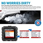 """LAUNCH Creader 3001 OBD2 Scanner Automotive Car Diagnostic Check Engine Light O2 Sensor Systems OBD Code Readers Scan… 16 : LAUNCH Creader 3001 obd2 scanner read and clear fault codes for engine system. In addition, Creader 3001 built in fault codes definition lookup library. LAUNCH Creader 3001 obd2 scanner works on most 1996 and newer US-based vehicles that are OBDII compliant (OBDII protocols: KWP2000, ISO9141, J1850 VPW, J1850 PWM and CAN). """"PLUG AND PLAY"""" scan tool, equipped with a 2. 5 feet long cable and made of a very thick flexible insulator, very easy to use for beginners. : You can use this obd2 scanner to check the status of emission-related monitors misfire system and fuel system, make sure the monitor was set before taking it to smog, help you pass the Smog Check easily, save your money for paying fine tickets. : Turns off the MIL , if you finished repairing the faulty components, then clear the fault codes and turn on the vehicle ignition, it is surprise that you will find the check engine light is off. And more, LAUNCH Creader 3001 obd2 scanner can read the car's information such as VIN number."""