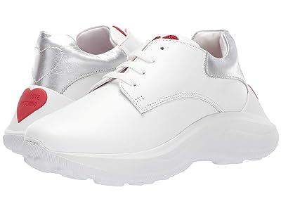 LOVE Moschino Chucky Dad Sneaker (Bianco) Women