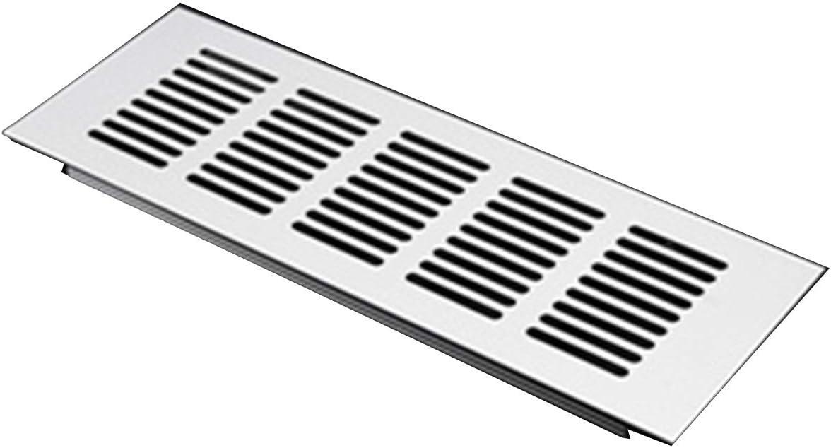 Cuiling-valla de aire 15cm-60cm, aleación de aluminio de la salida de aire, Chapa perforada Web Hoja Rejilla de ventilación for el armario, armario de zapatos, cubierta decorativa rejilla de escape de