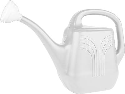 Bloem Watering Can Classic (JW82-09), Casper White, 2 Gallon (256 Fl Oz)